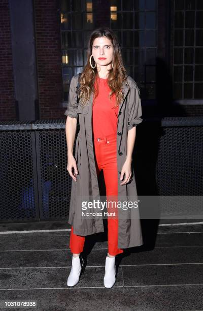 Lake Bell attends the screening of the rag bone film Time Of Day at The High Line on September 10 2018 in New York City