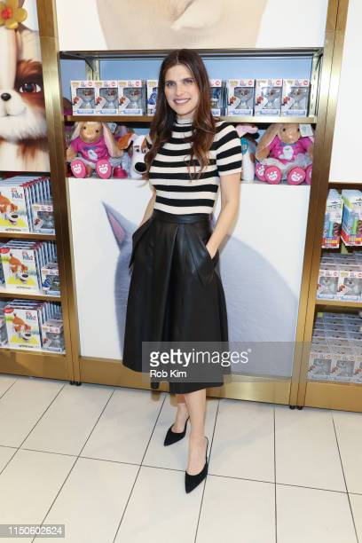 Lake Bell attends The Secret Life Of Pets 2 InStore Experience at FAO Schwarz on May 20 2019 in New York City