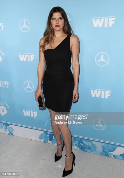 Lake Bell attends the Variety and Women In Film's 2017 PreEmmy Celebration at Gracias Madre on September 15 2017 in West Hollywood California