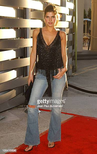 Lake Bell during 2004 ABC All Star Summer Party at C2 Cafe in Century City California United States