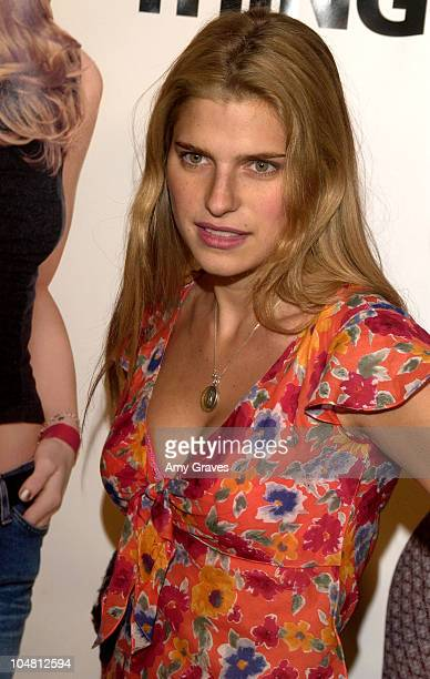 Lake Bell during A Guy Thing Premiere at Mann's Bruin Theater in Westwood California United States