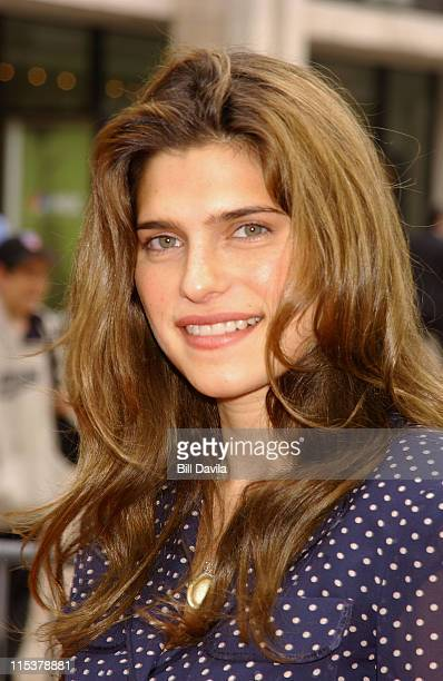 Lake Bell during NBC 2003-2004 Upfront - Arrivals at The Metropolitan Opera House in New York City, New York, United States.