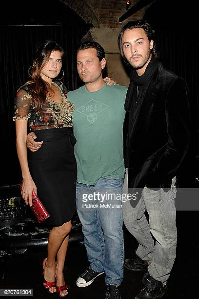 Lake Bell Jason Pomeranc and Jack Huston attend Cocktails and hors d' oeuvres to Celebrate the Launch of Thompson Hotels' Second Issue of Room 100 at...