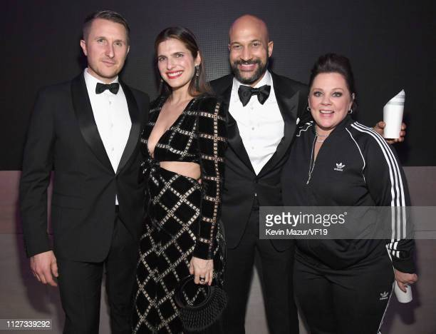 Lake Bell KeeganMichael Key and Melissa McCarthy attend the 2019 Vanity Fair Oscar Party hosted by Radhika Jones at Wallis Annenberg Center for the...