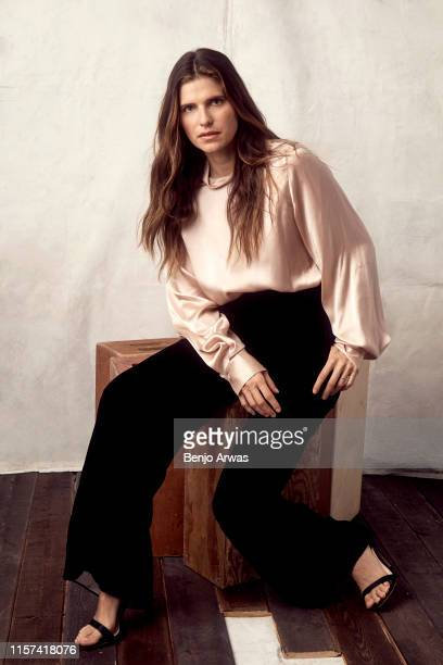 Lake Bell of DC Universe's 'Harley Quinn' poses for a portrait during the 2019 Summer TCA Portrait Studio at The Beverly Hilton Hotel on July 23 2019...