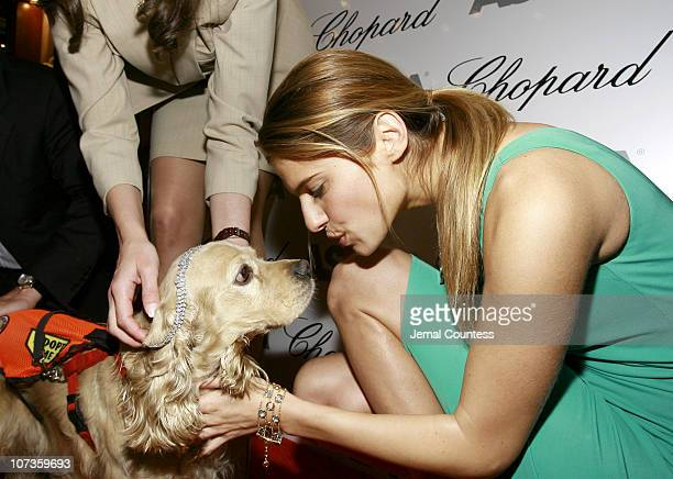 Lake Bell with Ruppert winner of the ASPCA Ball competition