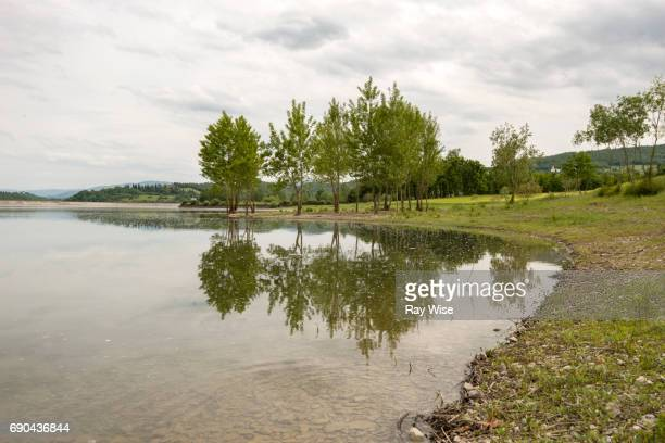 Lake Bilancino, near Florence, Tuscany, Italy.