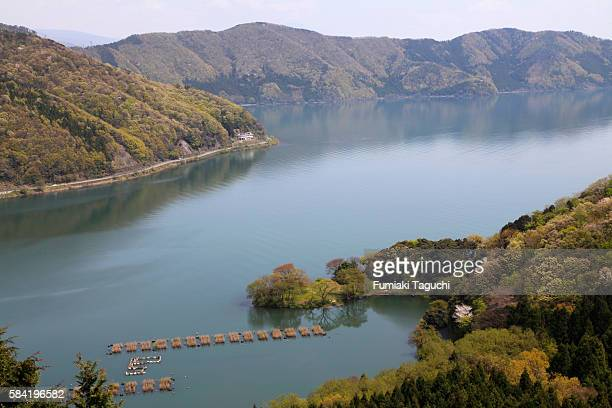 Lake Biwa, Shiga Prefecture, Honshu, Japan