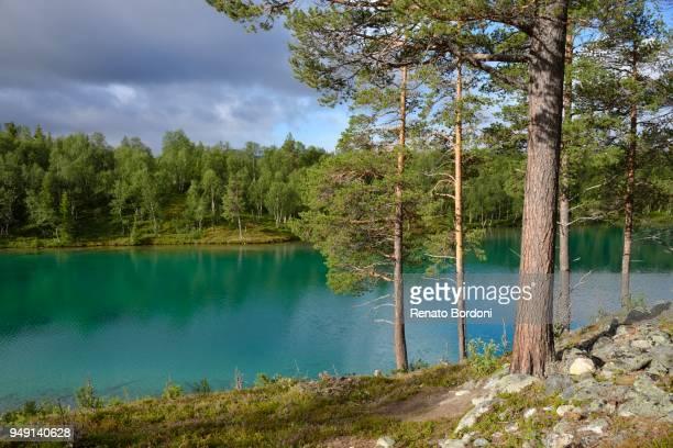 Lake Blanktjaern, Valadalen, Jaemtland County, Sweden
