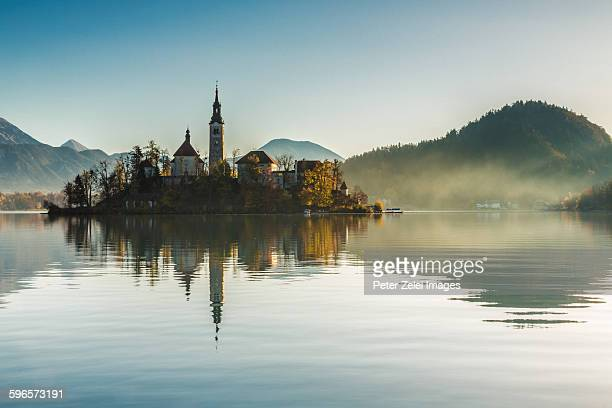 Lake Bled in the morning