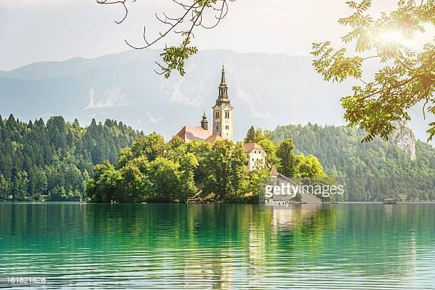 Lake Bled Slovenia Landscape