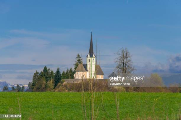 lake bled , slovenia - kranj stock pictures, royalty-free photos & images