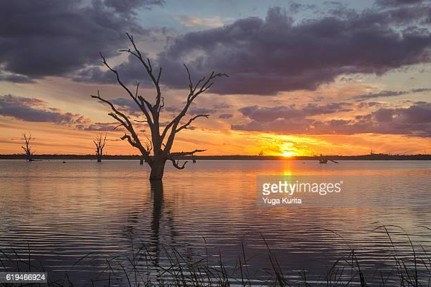 Lake Bonney at Sunset