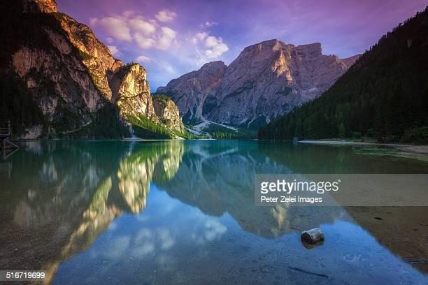Lake Braies in the Dolomites
