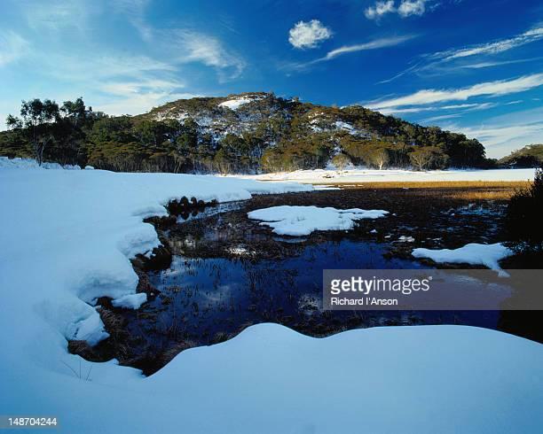 Lake Catani in winter - Mt Buffalo National Park, Victoria