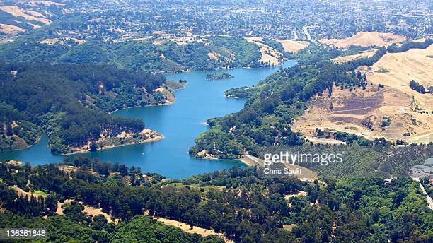 lake chabot - san leandro stock photos and pictures
