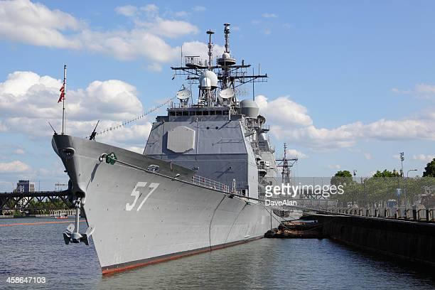 USS Lake Champlain.