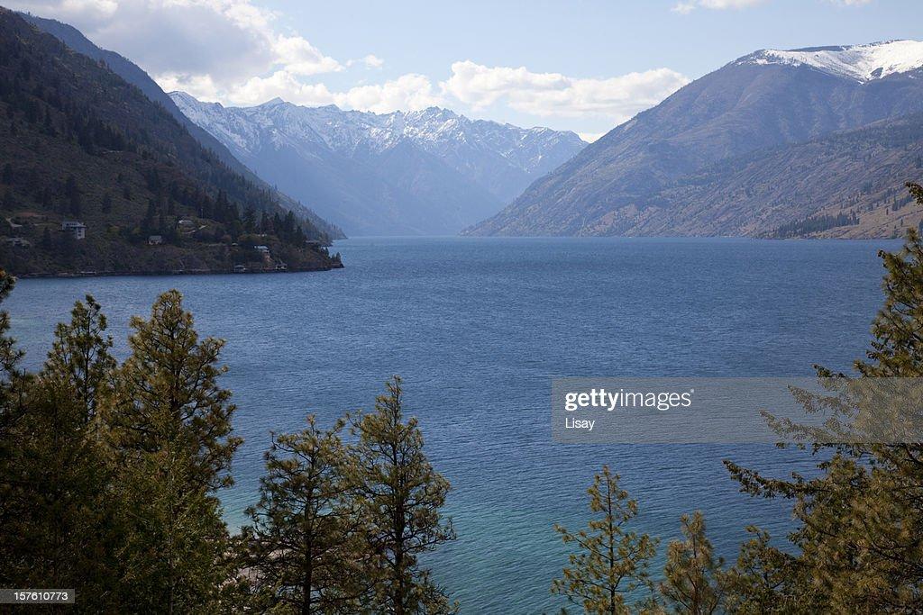 Lake Chelan : Stock Photo