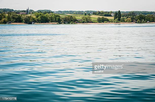 Lake Constance mit Blick auf das Schweizer boarder