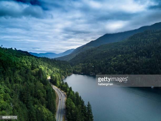 上から湖クレセント, ワシントン州