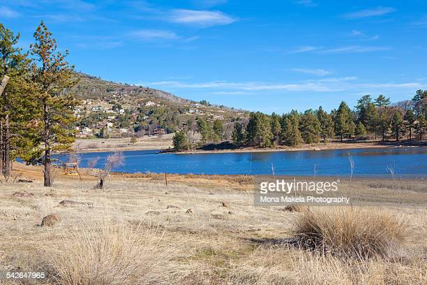 lake cuyamaca - julian california stock photos and pictures