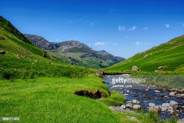 Lake District green valley.