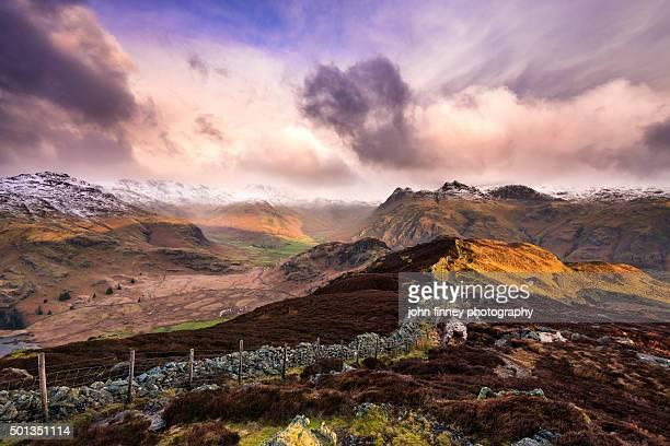 Lake District mountains. Cumria. UK.