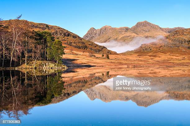 Lake District reflections, West Cumbria, England