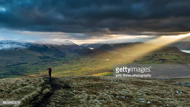 Lake District, shaft of light