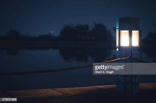 Lake dock lighting