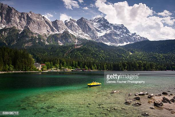 Lake Eibsee and Zugspitze