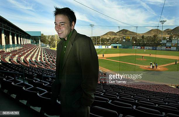 Lake Elsinore Mayor Thomas Buckley talks about the citys' future at their showcase stadium, the home of a professional minor league team for the San...
