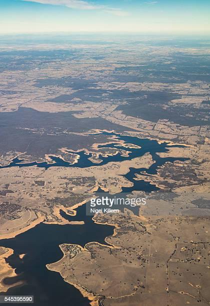 lake eppalock, victoria, australia - bendigo stock pictures, royalty-free photos & images