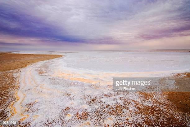 Lake Eyre salt lake