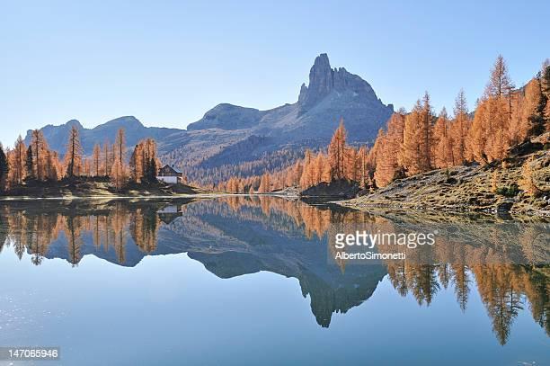 Lake Federa (Dolomiten, Italien