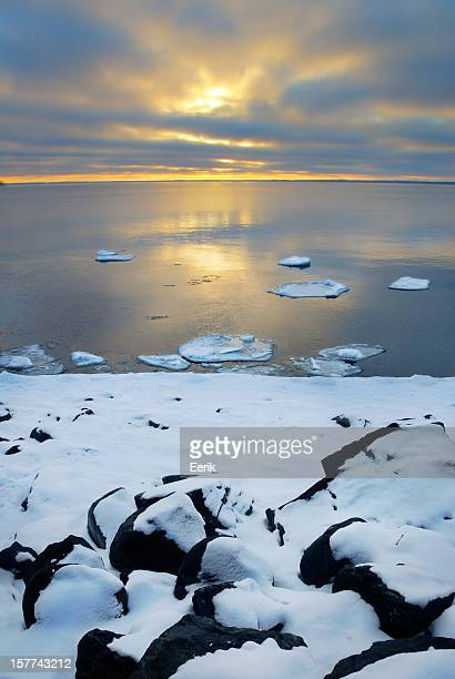 See Lake Einfrieren