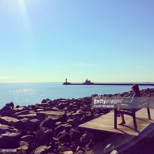 lake front - duluth minnesota stock pictures, royalty-free photos & images