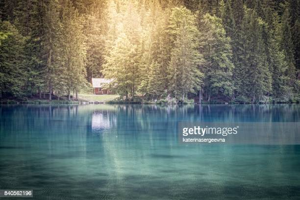 lake Fusine.Julian alps.Italy