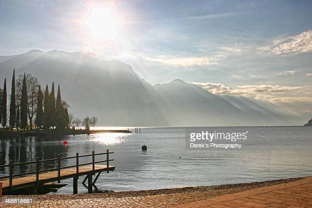Lake Garda  in the Morning