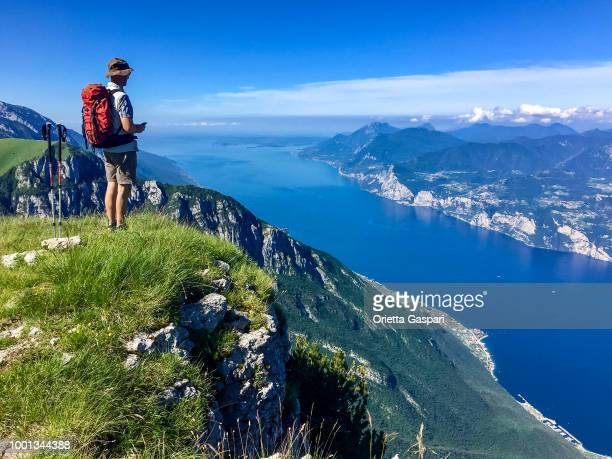 Lake Garda, view from Monte Baldo (Italy)