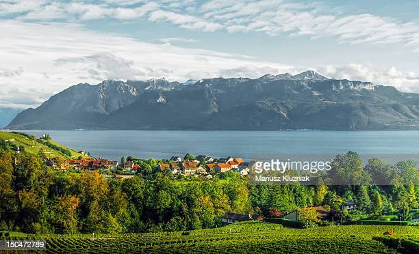 lake geneva - lausanne stock pictures, royalty-free photos & images