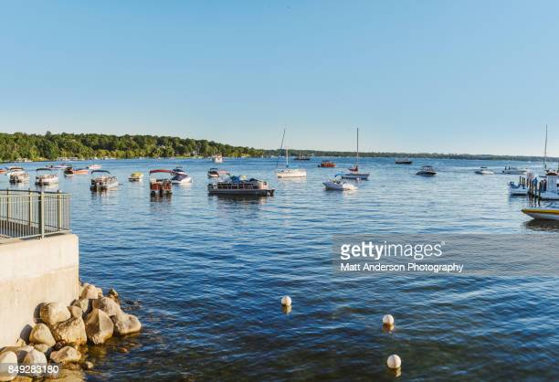 lake geneva - wisconsin stock pictures, royalty-free photos & images