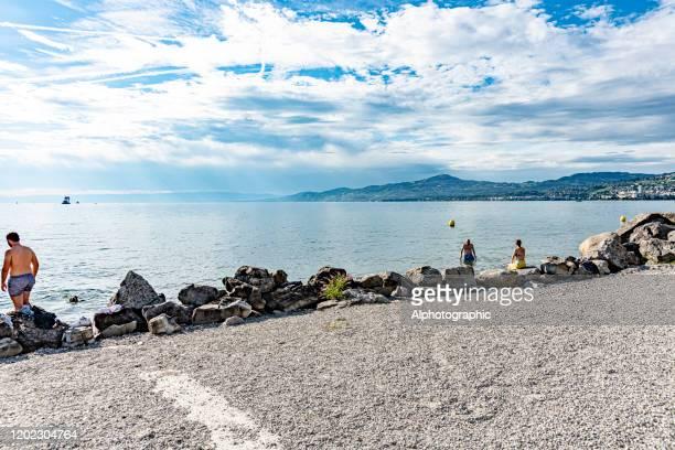 ジュネーブ湖, スイス - ヴォー州 ストックフォトと画像