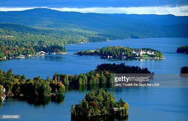 lake george bolton landing 1 - lake george new york stock pictures, royalty-free photos & images