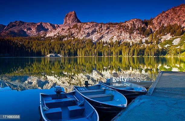 Lake George in morning light