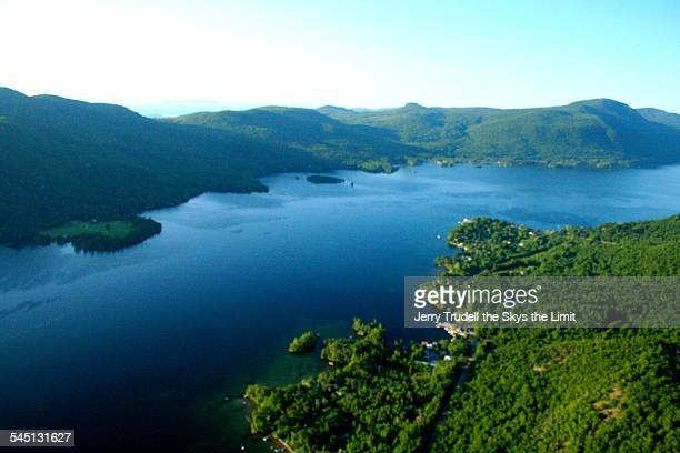 lake george narrows - lake george new york stock pictures, royalty-free photos & images