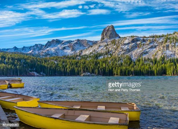 lake geroge in the eastern sierras at mammoth lakes, ca (p) - images of mammoth stock pictures, royalty-free photos & images