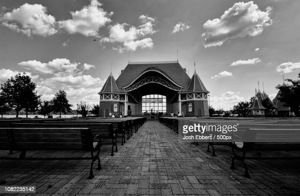 lake harriet bandshell - harriet stock photos and pictures