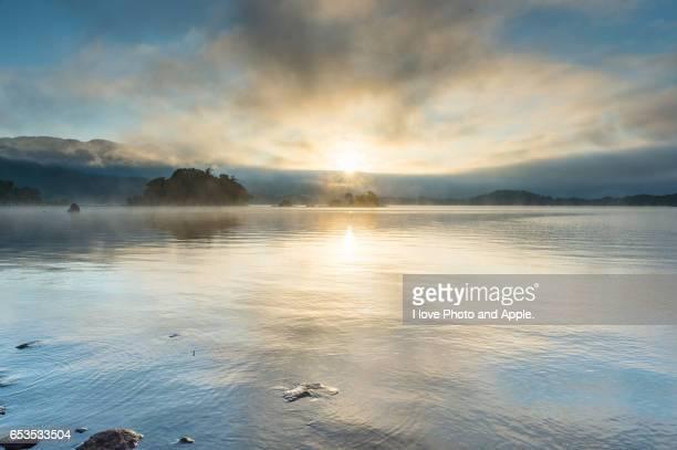 Lake Hibara Daybreak