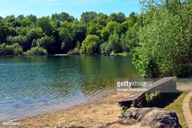Lake Hoehenfeld, Cologne, North Rhine-Westphalia